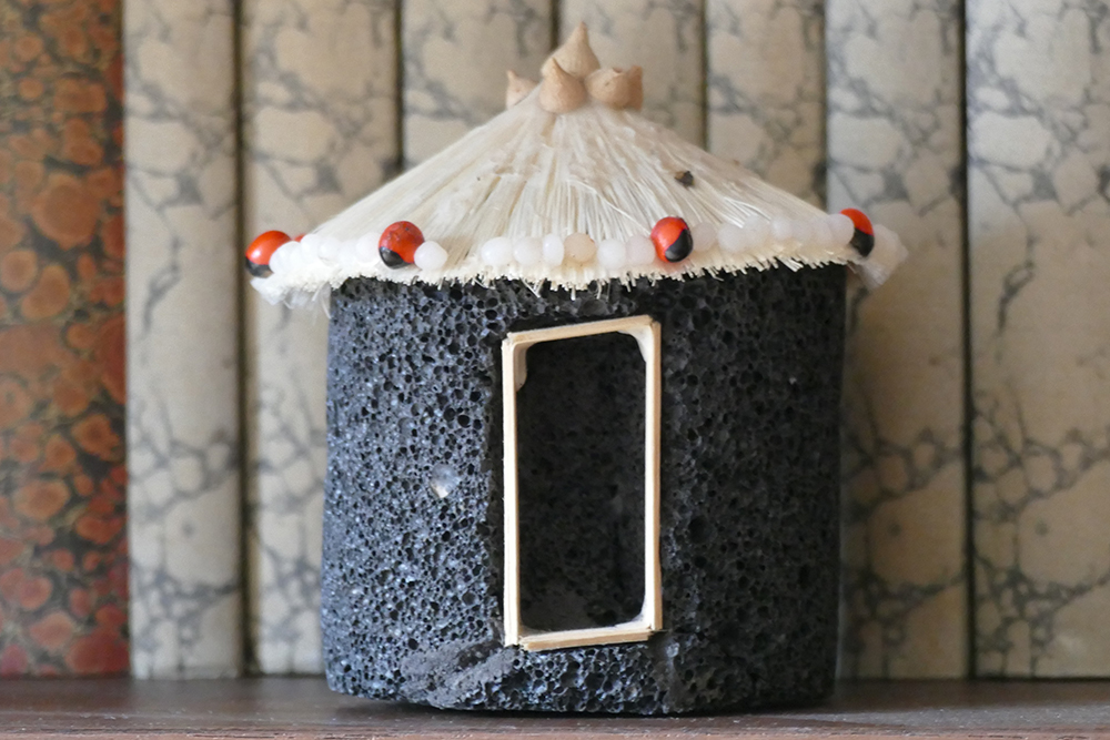 Toy lava house from Fogo