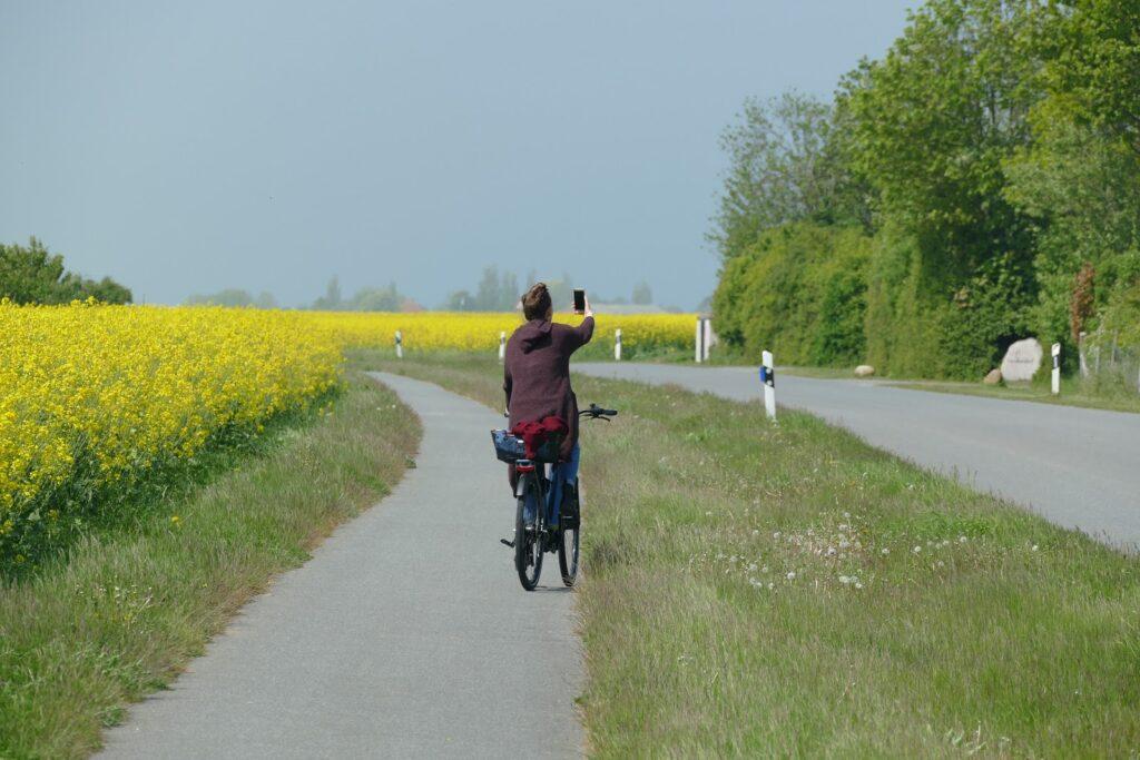 Biking on Fehmarn