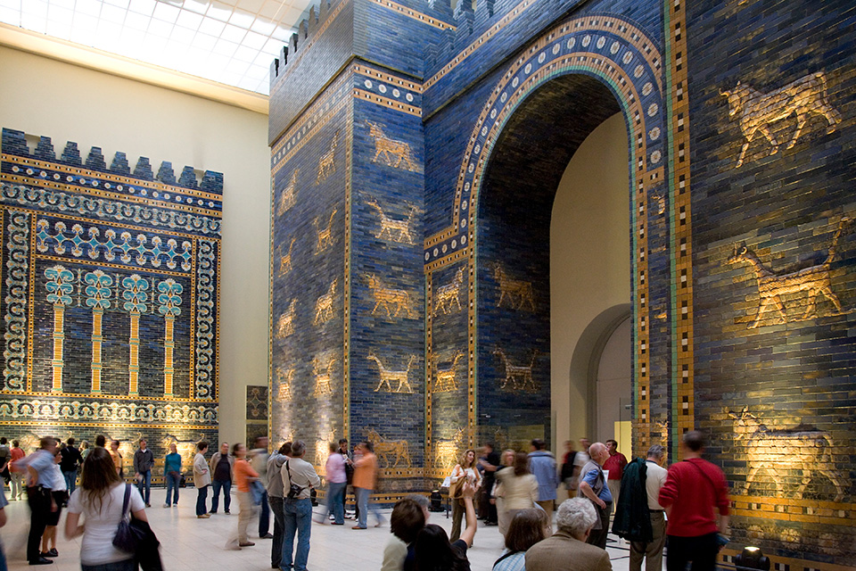 Pergamonmuseum on the Museumsinsel in Berlin
