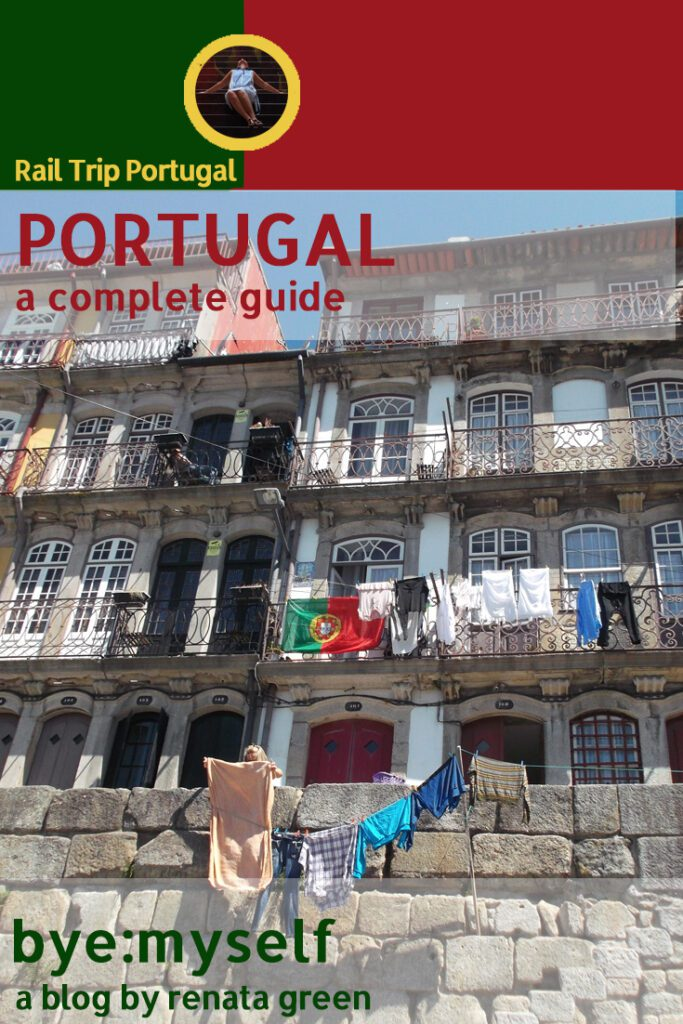 Pinnable Picture on Post on PORTUGAL - the complete guide to a railroad-trip