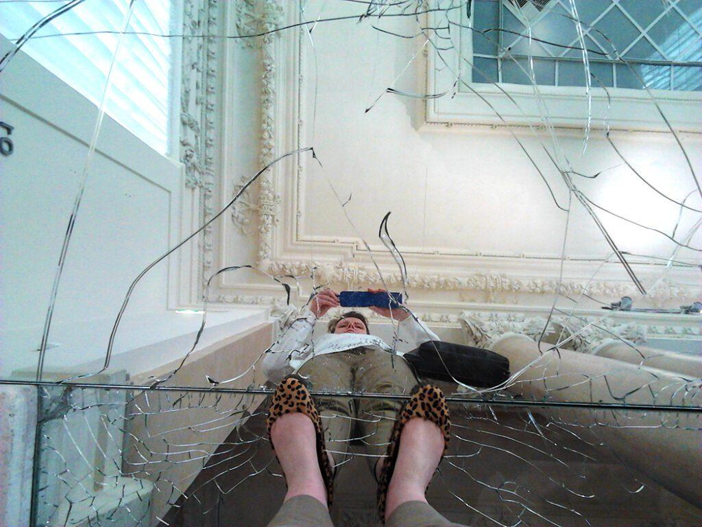 bye:myself - Renata Green - byemyselftravels: GNAM Roma - Sala delle Colonne / Alfredo Pirri: Passi