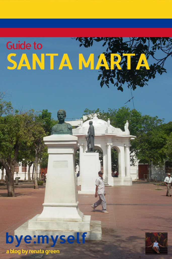 Pinnable Picture for the Post on SANTA MARTA - Spectacularly Unspectacular