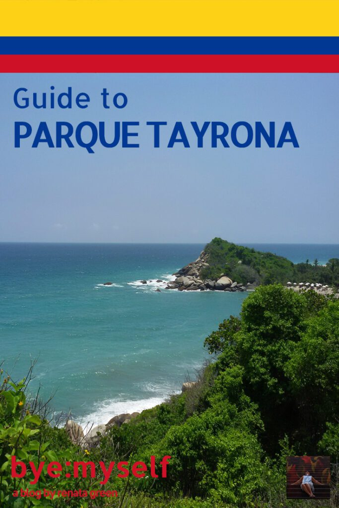 Pinnable Picture for the Post on A Day at the PARQUE TAYRONA