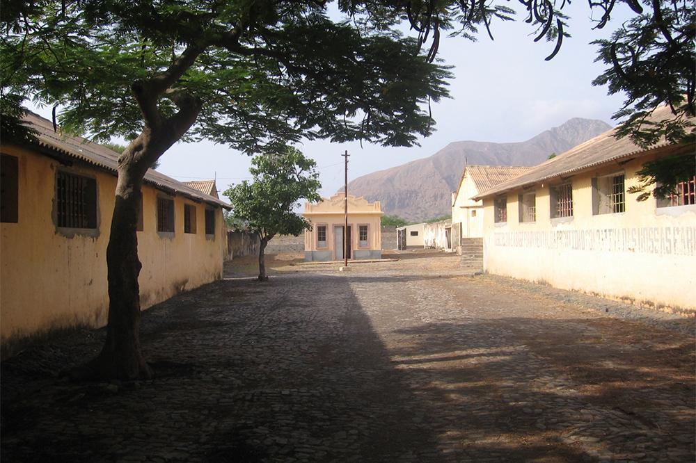Museu da Resistência close to Tarrafal on the Island of Santiago