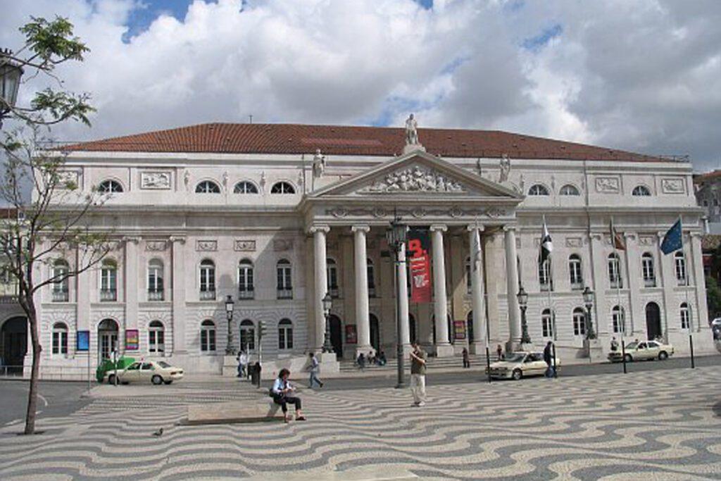Lisbon Rossio Teatro Nacional