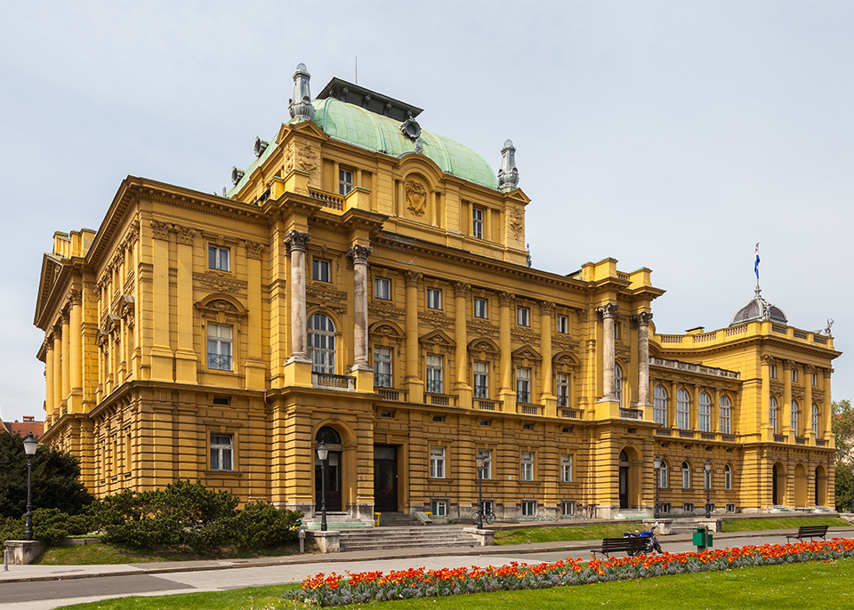 National Theater in Zagreb