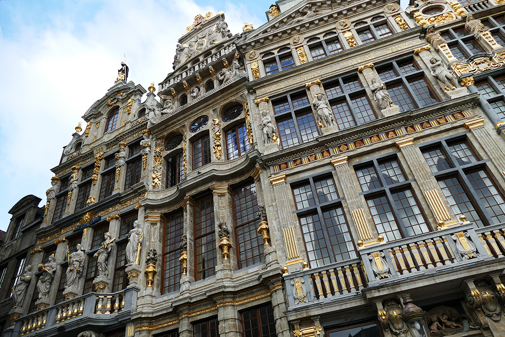 Guild Houses around the Grand Place Brussels