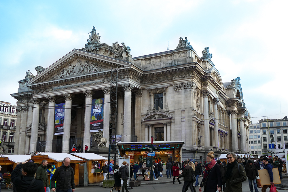 Place de la Bourse Brussels