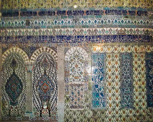 Faience at Topkapi palace