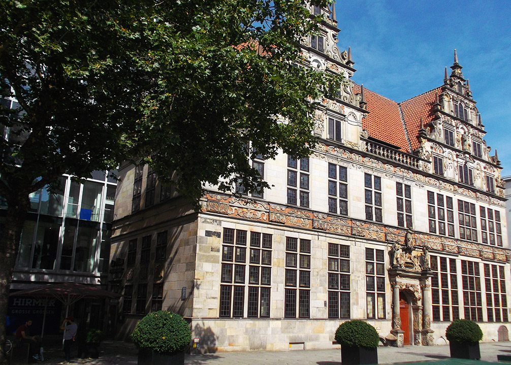 Bremen's old trade building