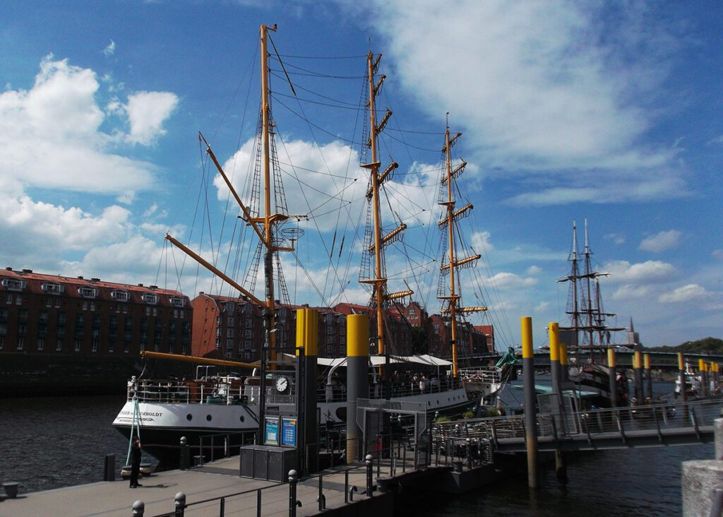 Sailing Ship in Bremen