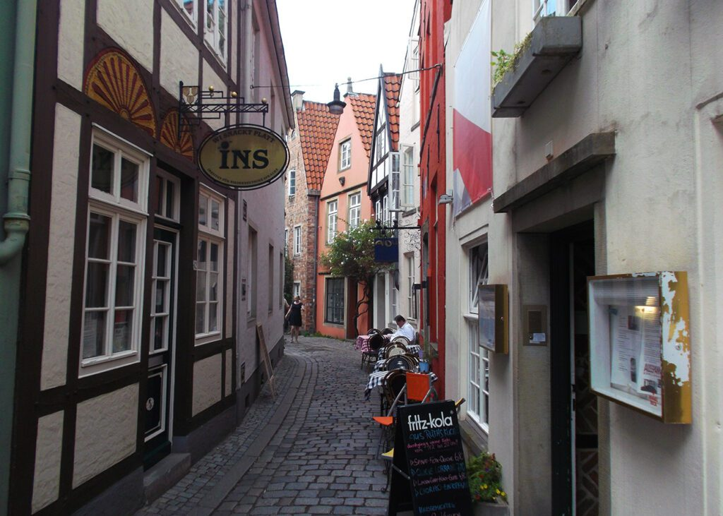 Alley in Bremen