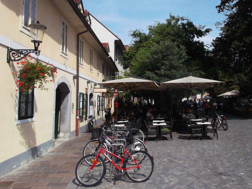 Bikes at Ljubljana