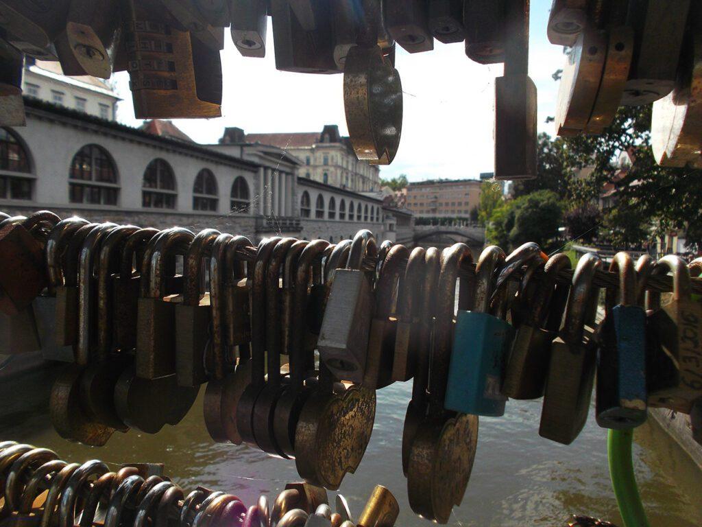 Ljubljana Fish Market Arcades