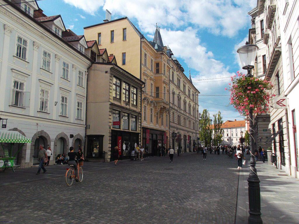 Street in Ljubljana