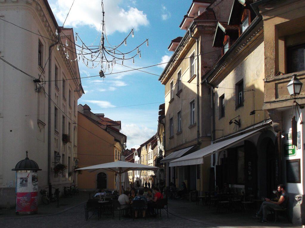 Streetafé in Ljubljana