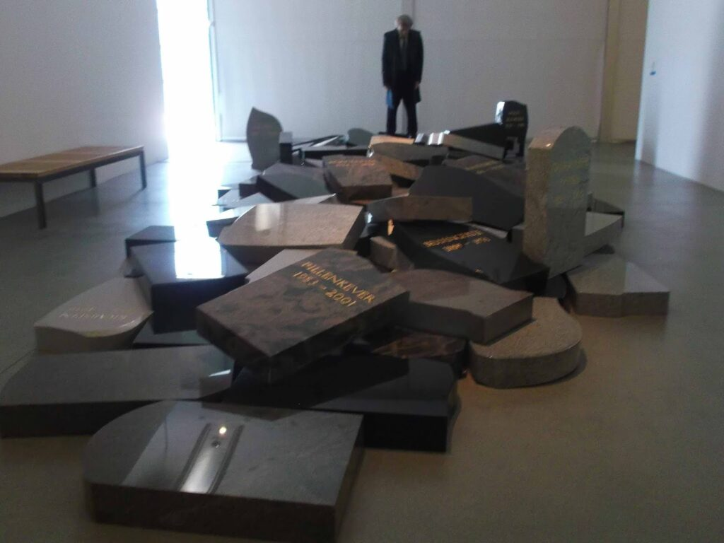 Jan Fabre: I spit on my own tomb