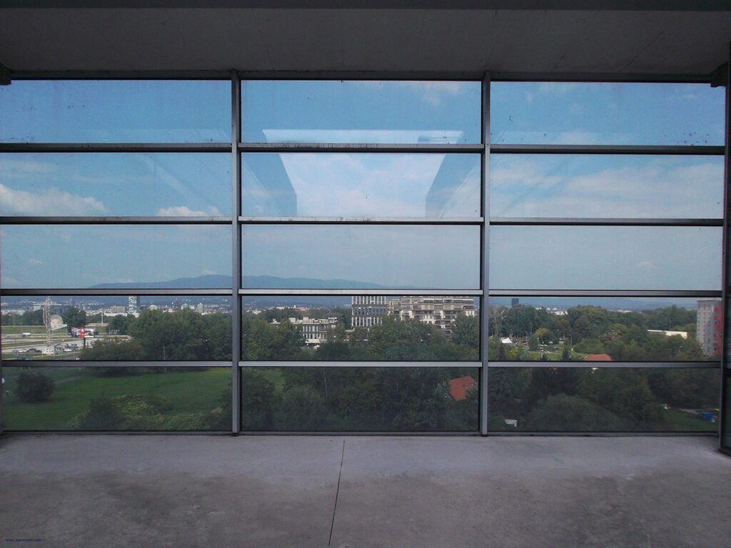 View from the Museum of Contemporary Art.
