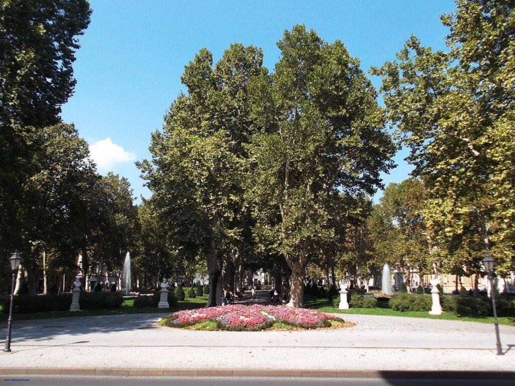 Park Zrinjevac Zagreb