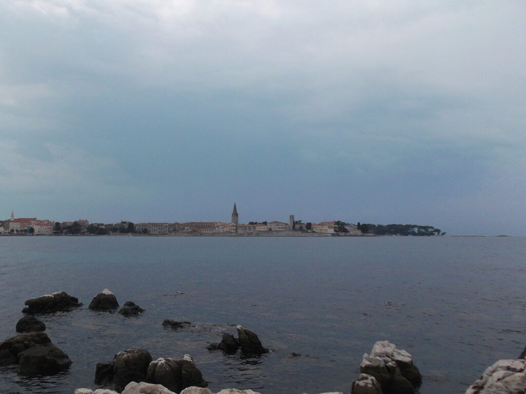 View of the Old Town of Porec