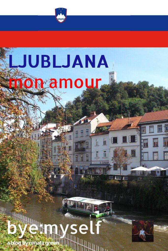 Pinnable Picture on a Post on Ljubljana