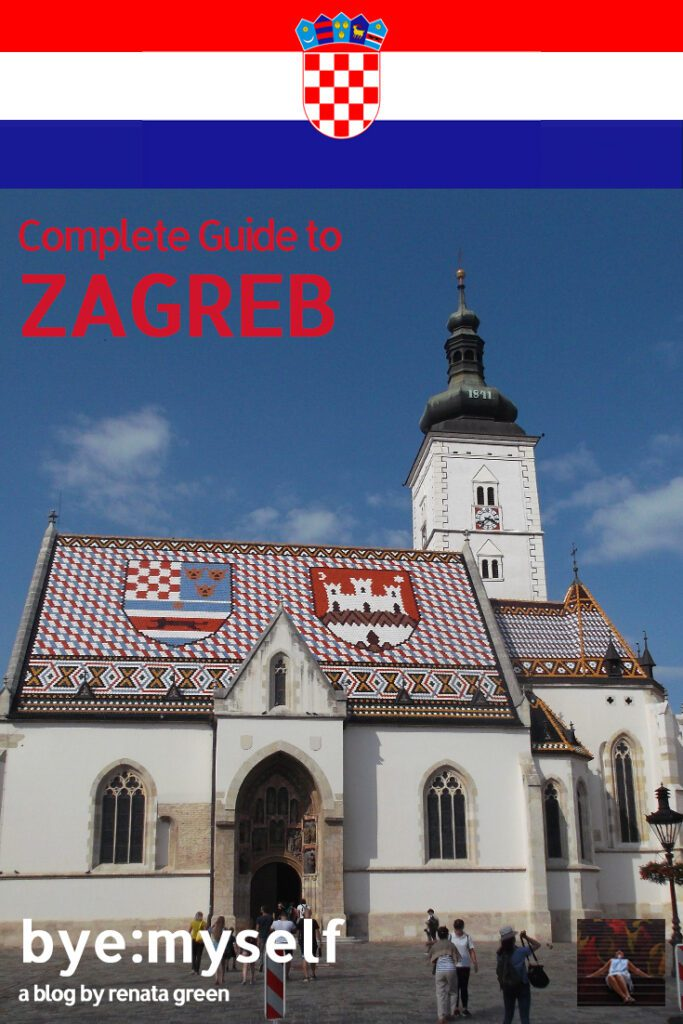 Pinnable Picture for the Post on Guide to ZAGREB, Croatia's Capital Off the Tourist Trails
