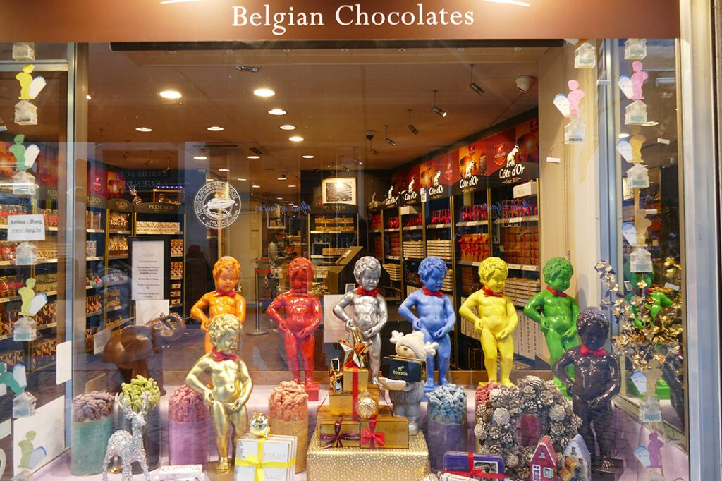 Chocolaterie Manneken Pis