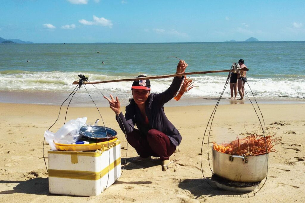 Lobster Lady in Nha Trang