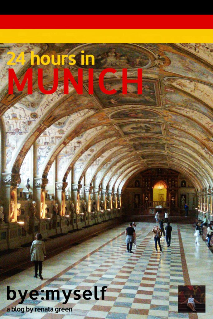 Pinnable picture for the post 24 hours in Munich / München