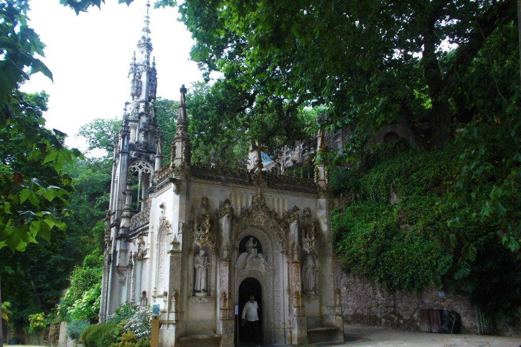 Private Chapel at the Quinta da Regaleira