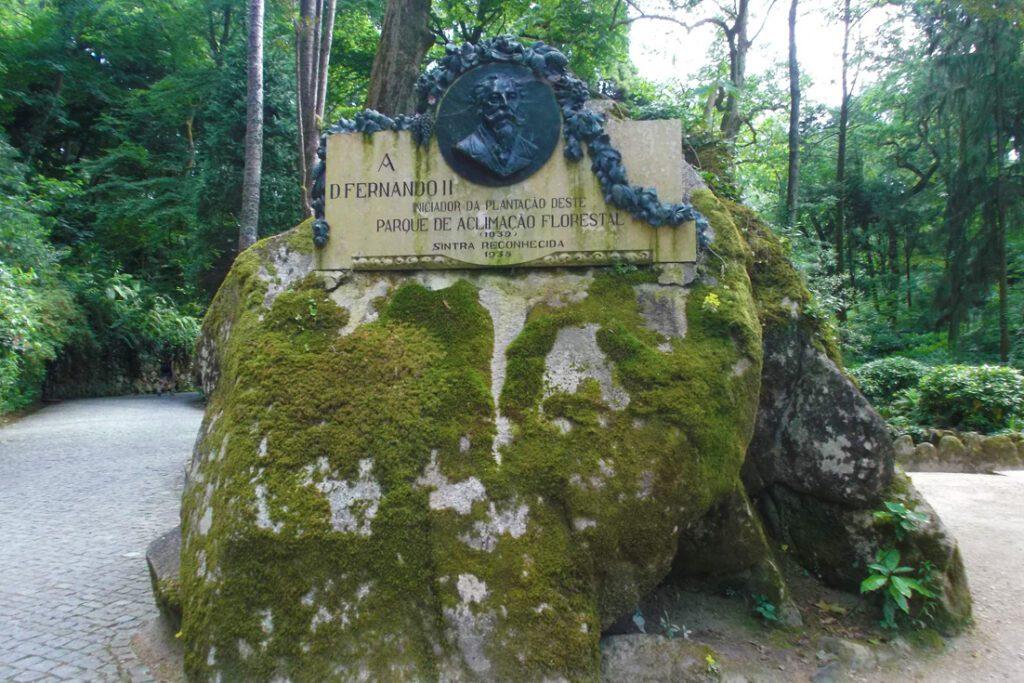Memorial to Dom Fernando II in Sintra