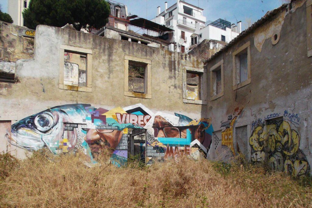 Mural in Alfama