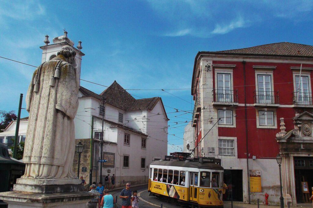 Praça de São Vicente in Lisbon