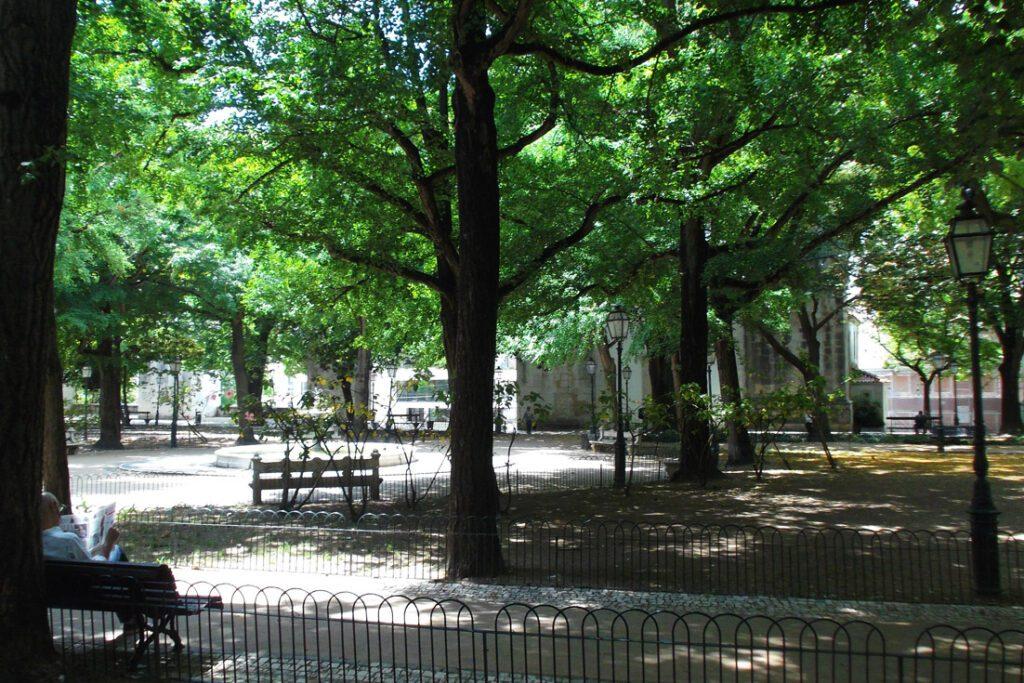 Parque das Amoreiras in Lisbon