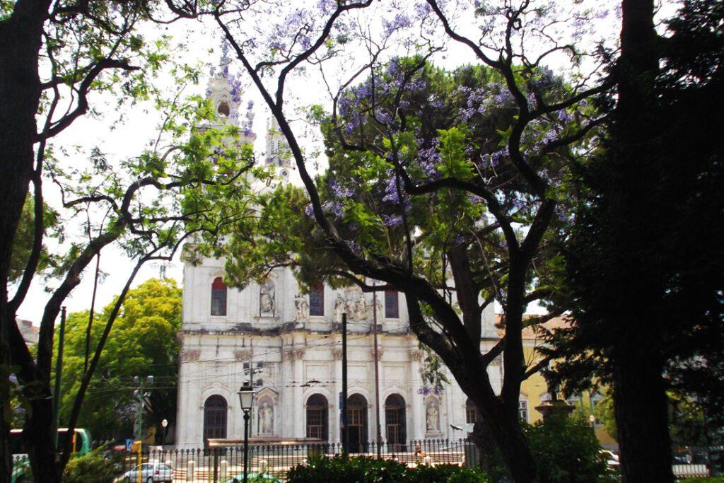 Basilica e Jardim da Estrela in Lisbon
