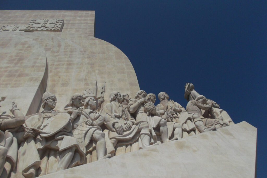 Padrao dos Descobrimentos in Belem in PORTUGAL - complete guide to a railroad-trip