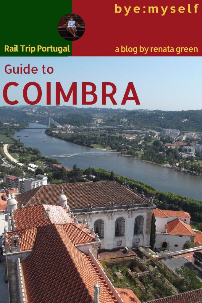 Pinnable Picture for the Post on Guide to COIMBRA. On the Beauty of Knowledge