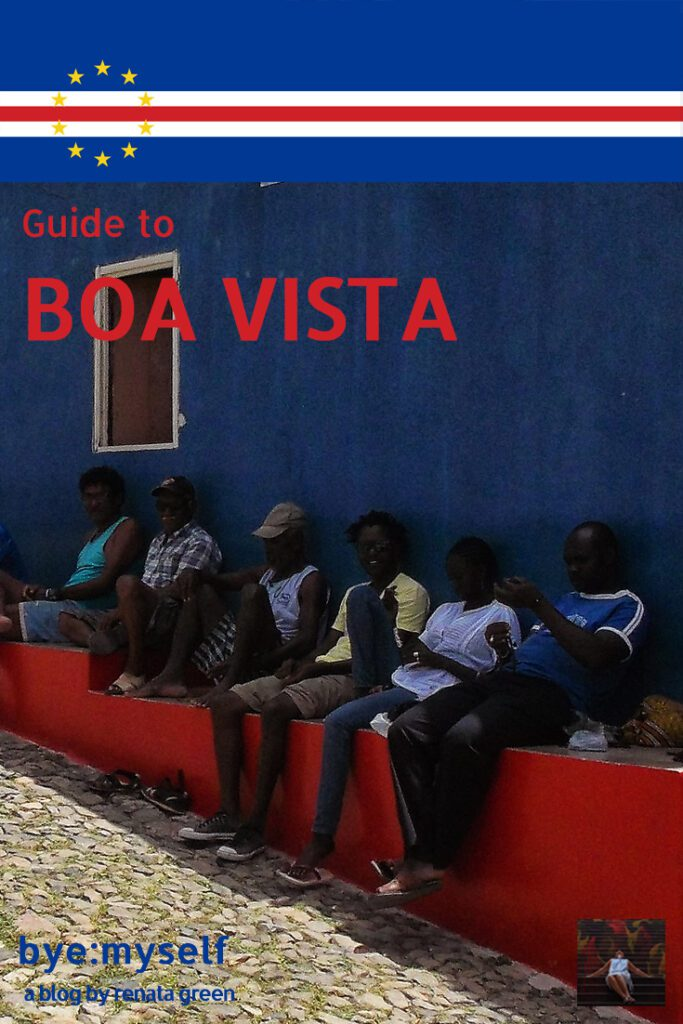 Pinnable PIcture for a Post on Guide to BOA VISTA, the world's most attractive heap of sand