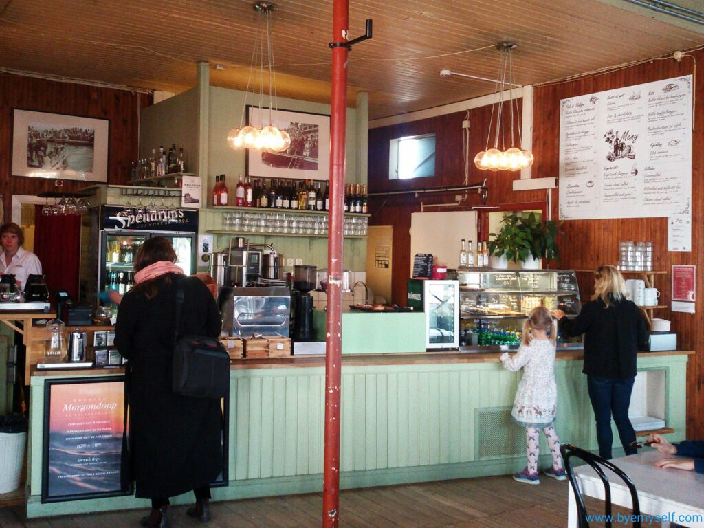 Ridersborgs Kallbadhus Café in Malmö