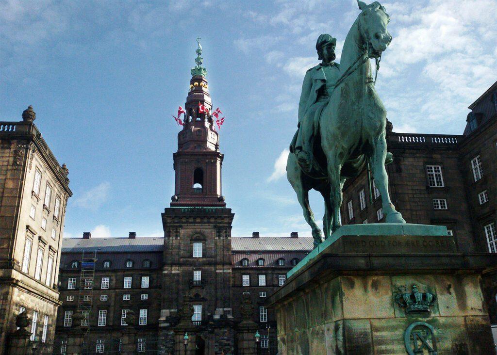 Christiansborg castle Copenhagen, Denmark