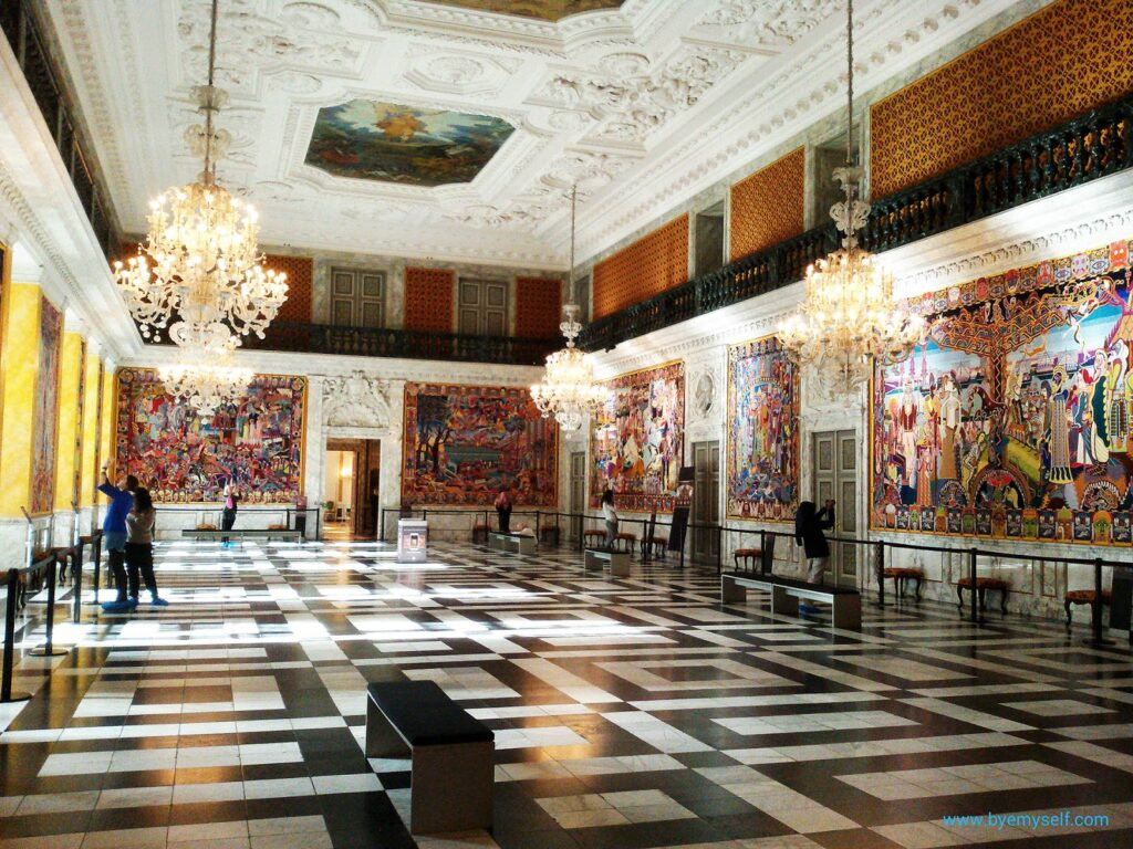 The Royal Reception Hall at Christiansborg, Copenhagen