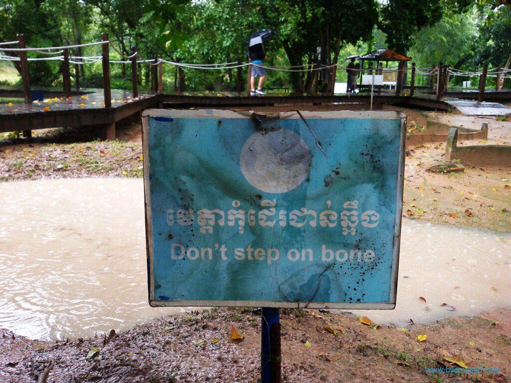 bye:myself - Renata Green - byemyselftravels: Choeung Ek Killing Fields Cambodia