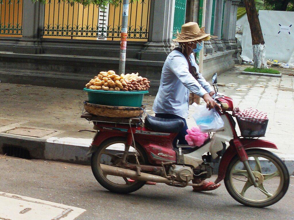 Phnom Penh Cambodia Street Hawker