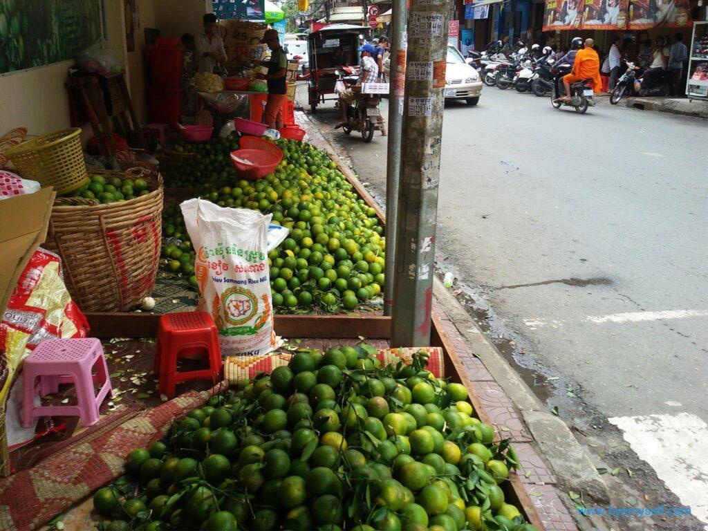 Phnom Penh Cambodia Oranges