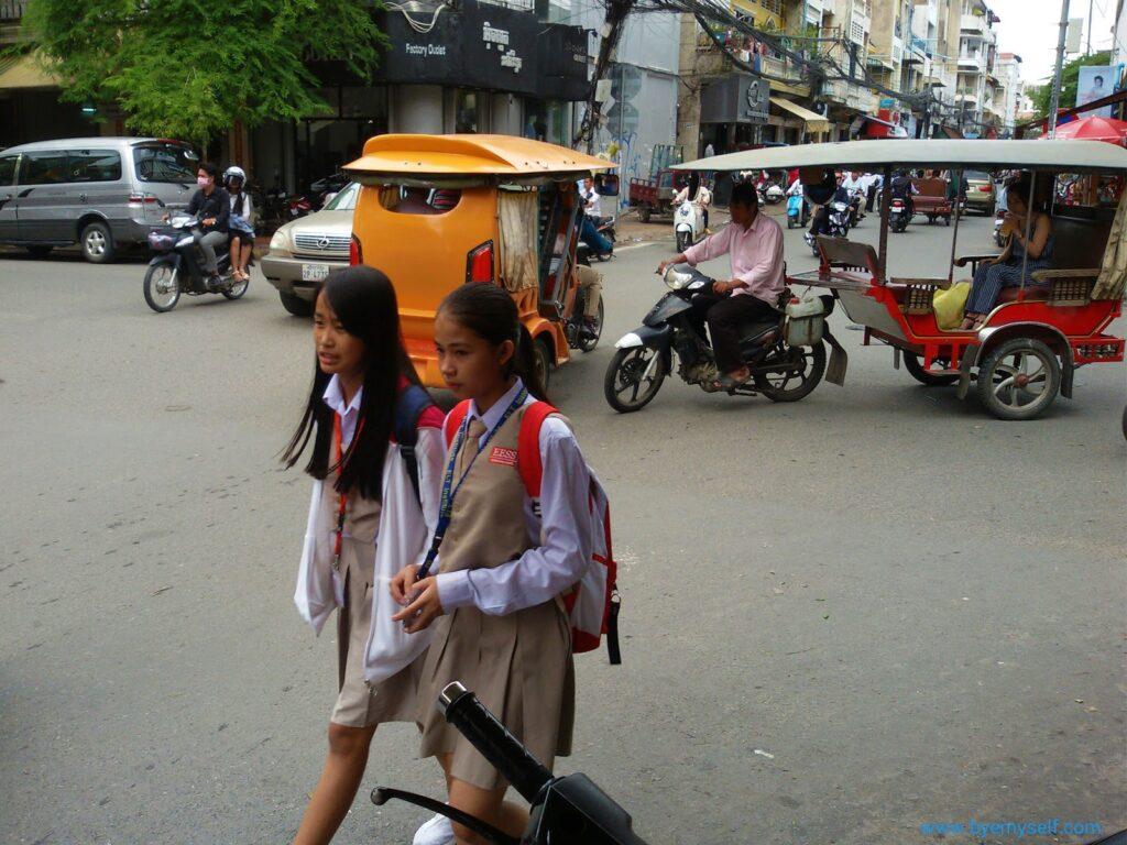 Phnom Penh Cambodia Street