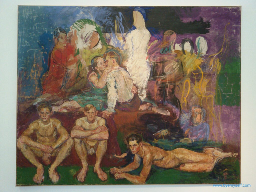 Anton Kolig: Die Mlerfamilie