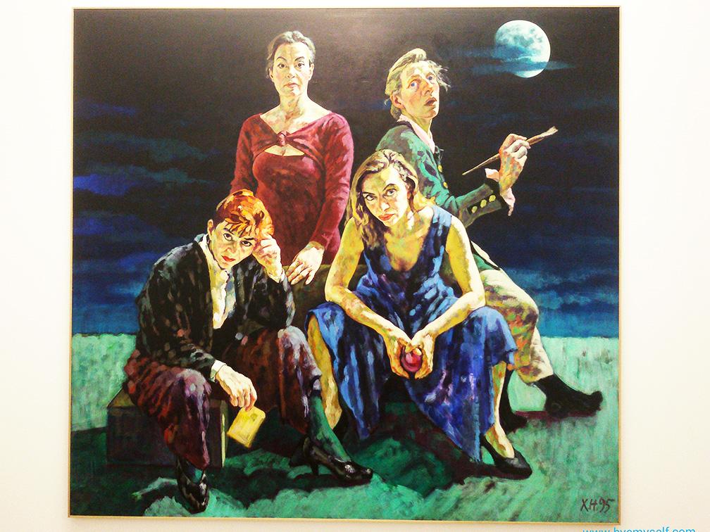 Xenia Hausner: Nacht der Skorpione/Night of the Scorpions