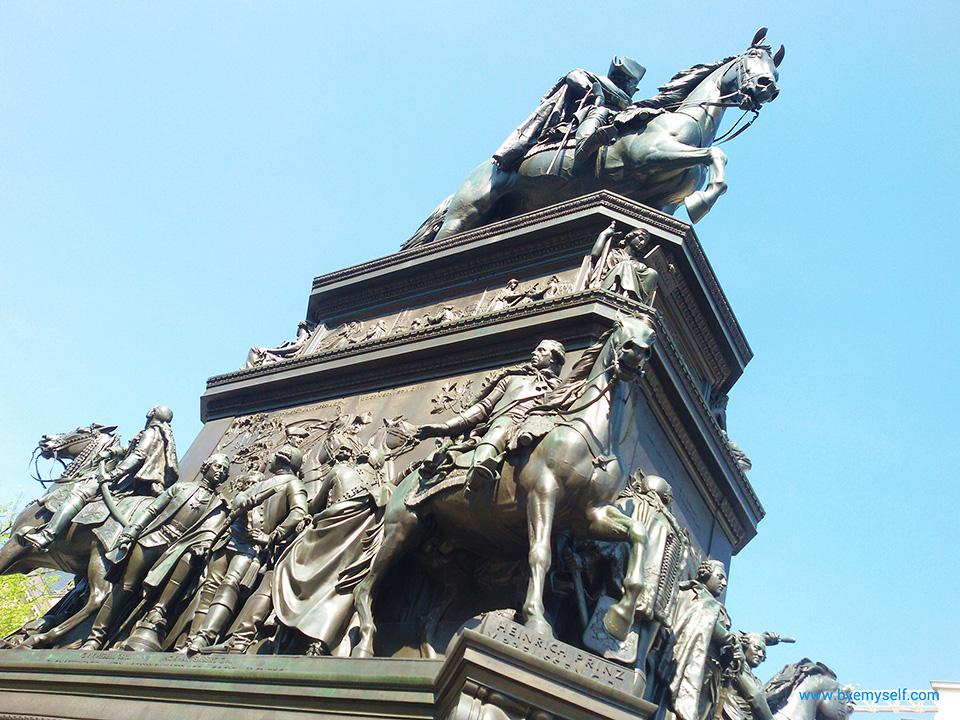 Statue Friedrich der Große in Berlin