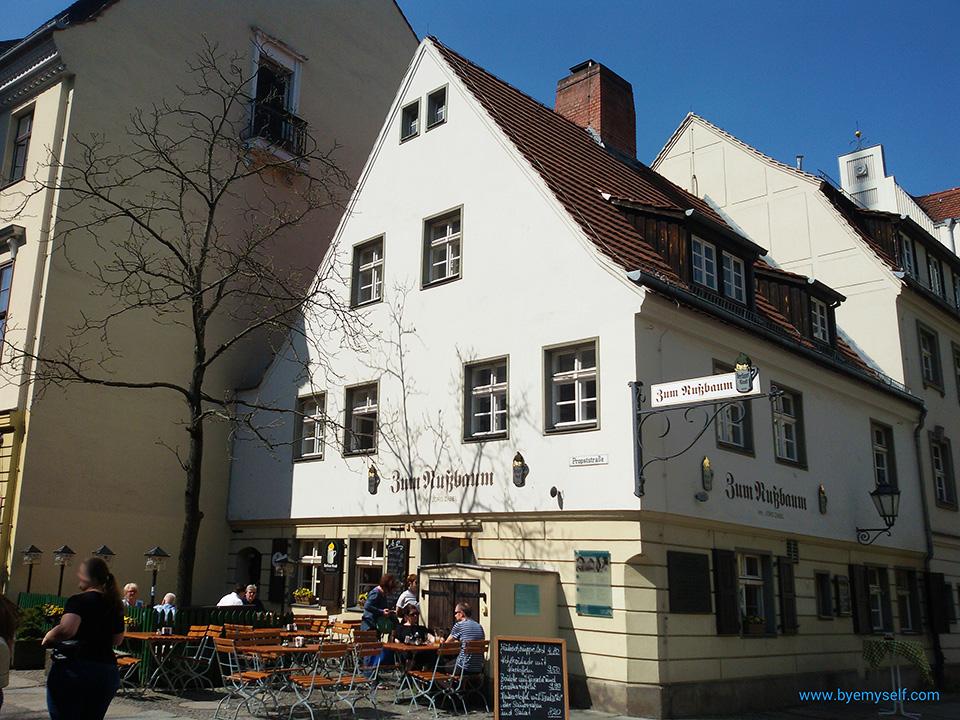 Nicolaiviertel Restaurant Zum Nussbaum in Berlin
