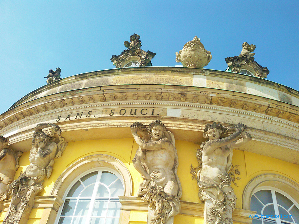 Especially Sanssouci shows you POTSDAM and how Frederick made a small town great